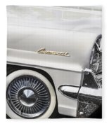1959 Lincoln Continental Fleece Blanket