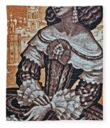 1959 Spanish Sahara Stamp Fleece Blanket