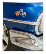 1960 Chevrolet Bel Air 012315 Fleece Blanket