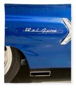 1960 Chevrolet Bel Air 3 012315 Fleece Blanket