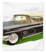 1960 Continental Convertible Fleece Blanket