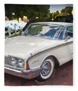 1960 Ford Starliner Fleece Blanket