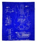 1961 Fender Guitar Fleece Blanket