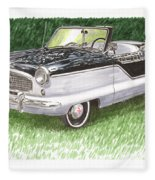 1961 Nash Metro Convertible Fleece Blanket