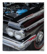 1961 Pontiac Catalina 421 Fleece Blanket