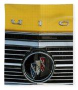 1962 Buick Front Fleece Blanket
