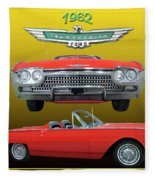 1962 Ford T-bird Sport Fleece Blanket