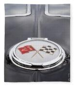 1963 Corvette  Fleece Blanket