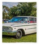 1963 Ford Galaxie 500xl Hardtop Fleece Blanket