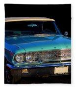 1963 Ford Galaxy Fleece Blanket