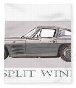 1963 Split Window Fleece Blanket
