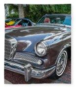 1964 Studebaker Golden Hawk Gt Painted Fleece Blanket