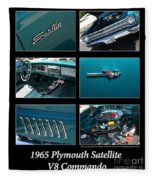 1965 Plymouth Satellite Fleece Blanket