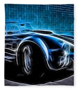 1965 Shelby Cobra - 4 Fleece Blanket