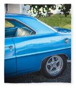 1967 Chevrolet Nova Super Sport  Fleece Blanket