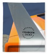 1967 Dodge Charger 01 Fleece Blanket
