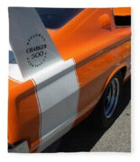 1967 Dodge Charger 02 Fleece Blanket