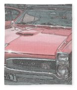 1967 Pontiac Gto Fleece Blanket