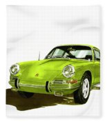 1967 Porsche 911  Fleece Blanket