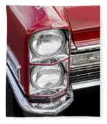 1968 Cadillac Deville You Looking At Me Fleece Blanket