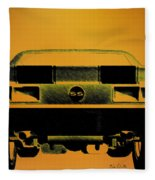 1968 Camaro Ss  Full Rear Fleece Blanket