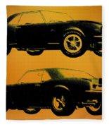 1968 Camaro Ss Side View Fleece Blanket