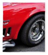1968 Chevrolet Corvette Stingray Fleece Blanket