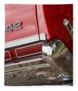 1968 Oldsmobile 442 Fleece Blanket