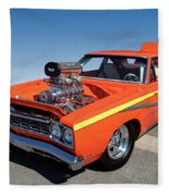 1968 Plymouth Road Runner Fleece Blanket