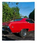 1969 Buick Gs Fleece Blanket