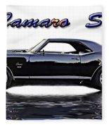 1969 Camaro Ss Fleece Blanket