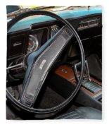 1969 Chevrolet Camaro Rs - Orange - Interior - 7601 Fleece Blanket