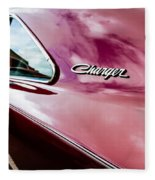 1969 Dodge Charger Fleece Blanket