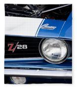 1969 Z28 Camaro Real Muscle Car Fleece Blanket