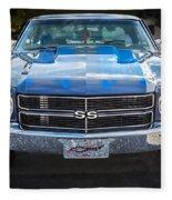 1970 Chevy Chevelle 454 Ss   Fleece Blanket