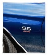 1970 Chevy Chevelle 454 Ss  Fleece Blanket