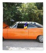 1970 Plymouth Dodge Superbird Fleece Blanket