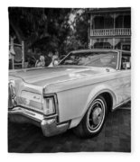 1971 Lincoln Continental Mark IIi Painted Bw   Fleece Blanket