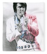 1971 Turquoise Concho Suit Fleece Blanket