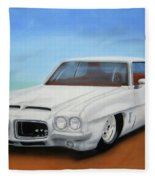 1972 Pontiac Gto Fleece Blanket