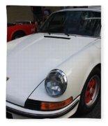 1973 Porsche Fleece Blanket