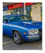 1974 Plymouth Roadrunner Fleece Blanket