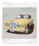 1988 Rolls  Royce's Corniche Convertible  Fleece Blanket
