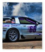 1997 Corvette Fleece Blanket
