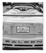 1999 Ford Saleen Mustang Bw Fleece Blanket