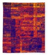 0171 Abstract Thought Fleece Blanket