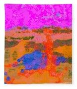 0173 Abstract Thought Fleece Blanket