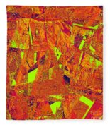 0174 Abstract Thought Fleece Blanket