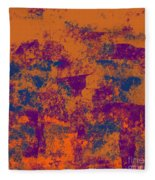 0199 Abstract Thought Fleece Blanket