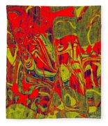 0477 Abstract Thought Fleece Blanket